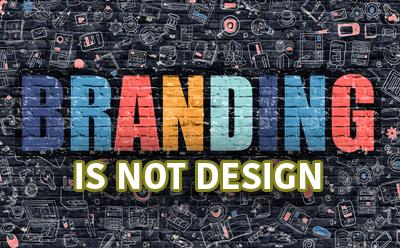 Branding is not design